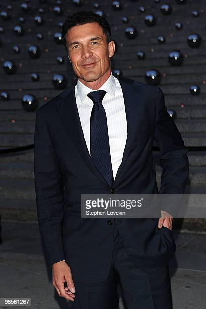 Andre Balazs attends the Vanity Fair Party during the 9th Annual Tribeca Film Festival at the New York State Supreme Court on April 20 2010 in New...