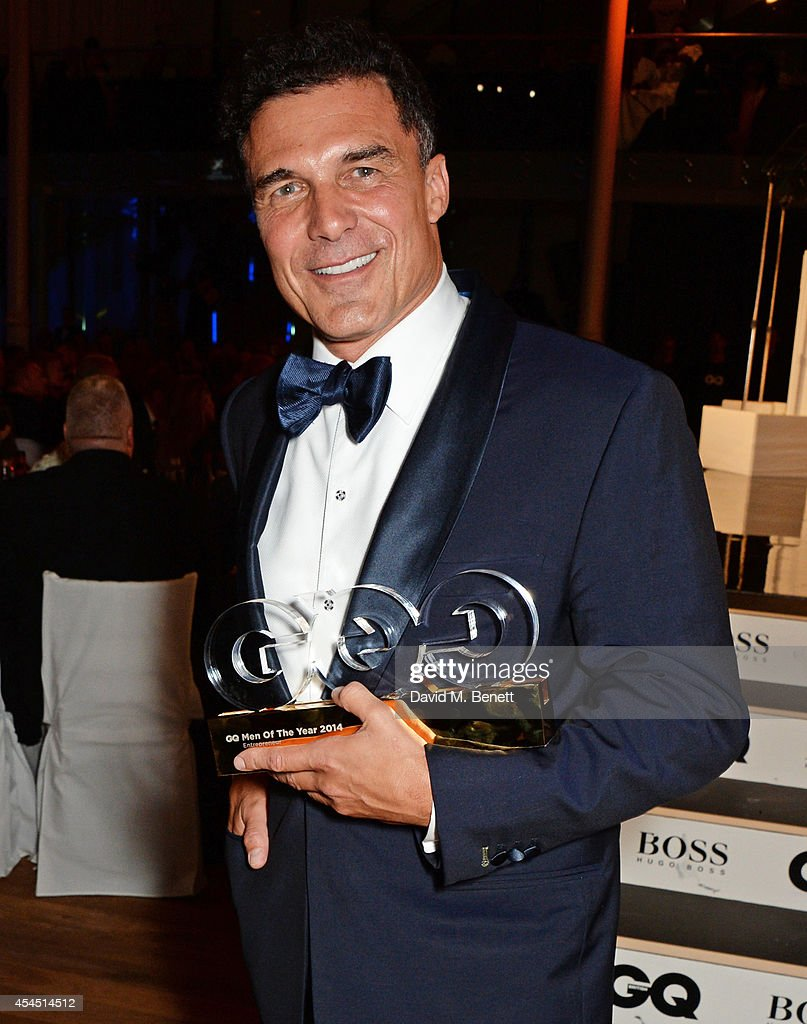 Andre Balazs, winner of the Entrepreneur of the Year award