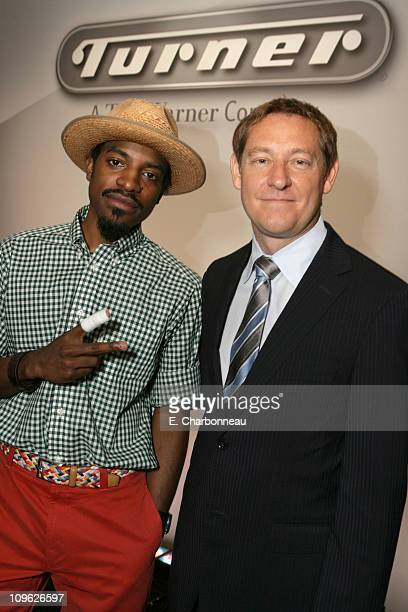 Andre Benjamin CoCreator/Executive Producer of 'Class of 3000' and Jim Samples Executive Vice President and General Manager Cartoon Network...