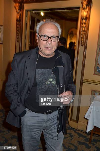 Andre Bercoff attends the Procope Des Lumieres' Literary Awards First Edition at the Procope on January 30 2012 in Paris France