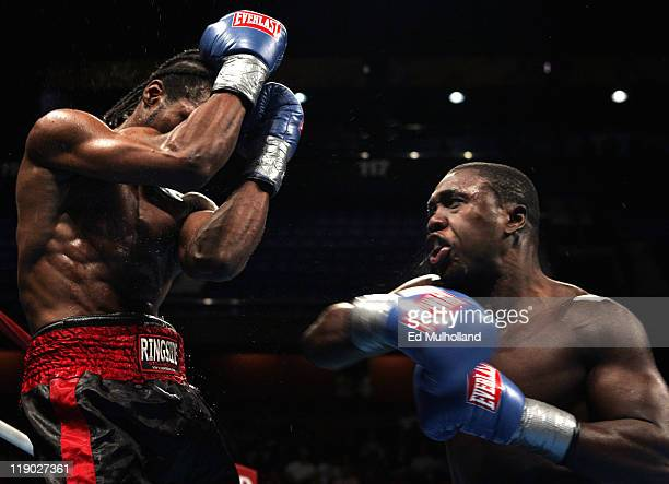 Andre Berto trades punches with Joseph Benjamin . Andre Berto defeated Joseph Benjamin via unanimous decision at the Mohegan Sun Arena in Uncasville,...