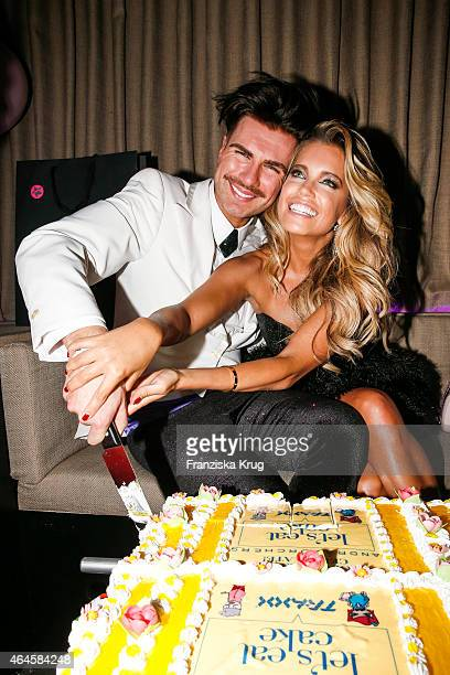Andre Borchers and Sylvie Meis attend as Andre Borchers Celebrates His Birthday on February 26 2015 in Hamburg Germany