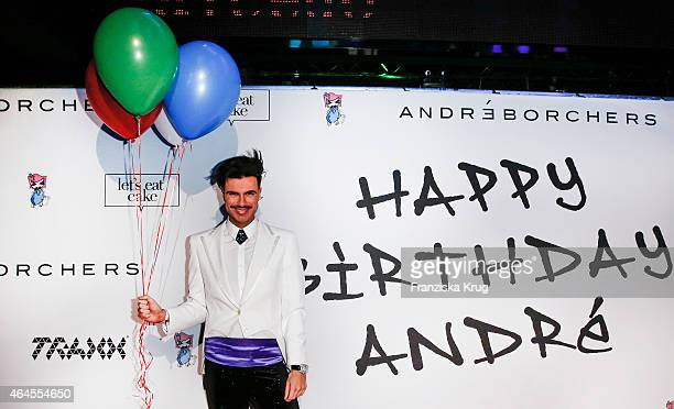 Andre Borchers attends as Andre Borchers Celebrates His Birthday on February 26 2015 in Hamburg Germany