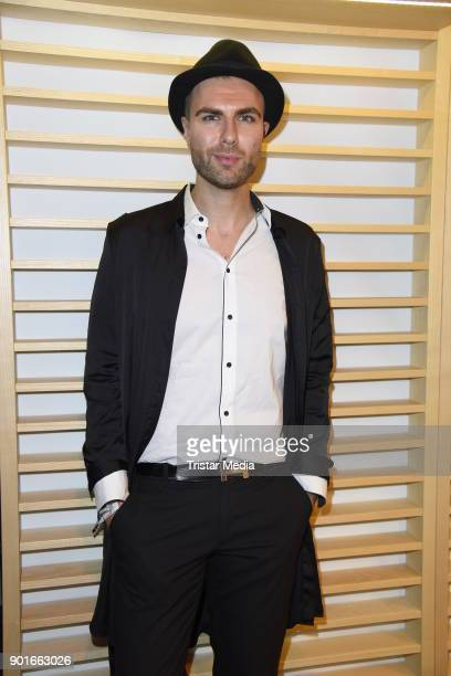 Andre Borchers attends the Channel Aid Concert at Elbphilharmonie on January 5 2018 in Hamburg Germany