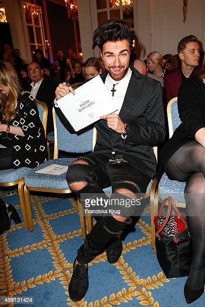 Andre Borchers attends the Deichmann Shoe Step of the Year 2014 on November 17 2014 in Hamburg Germany