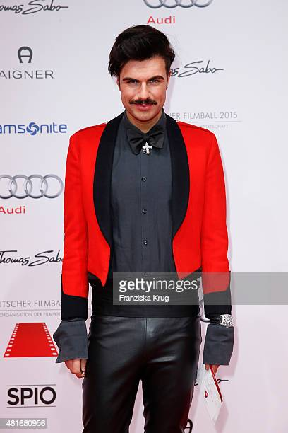 Andre Borchers attends the German Film Ball 2015 on January 17 2015 in Munich Germany