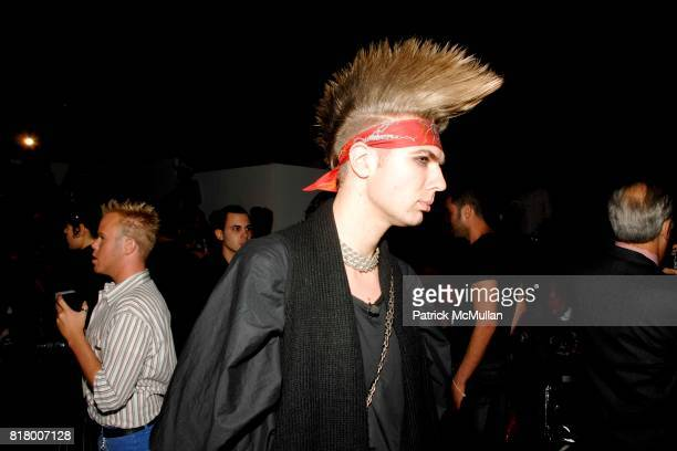 Andre Borthern attends Richie Rich 2011 Fashion Show at The Studio at Lincoln Center on September 9 2010 in New York City