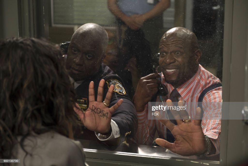 Andre Braugher and Terrry Crews in the The Big House Pt.1 Season Five premiere episode of BROOKLYN NINE-NINE airing Tuesday, Sept. 26 (9:30-10:00 PM ET/PT) on FOX.
