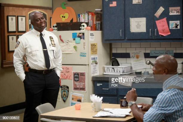 Andre Braugher and Terry Crews in the HalloVeen episode of BROOKLYN NINENINE airing Tuesday Oct 17 on FOX