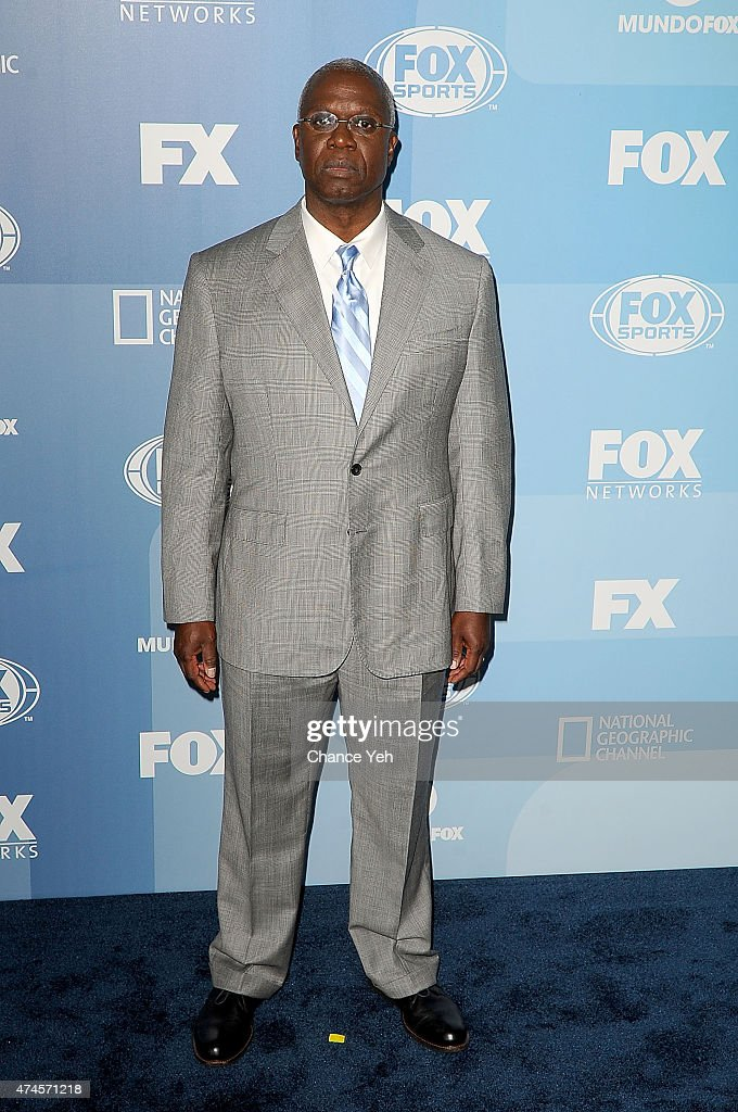 Andre Braugher attends 2015 FOX Programming Presentation at Wollman Rink, Central Park on May 11, 2015 in New York City.