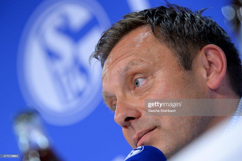FC Schalke 04 Unveils New Signing Head Coach Andre Breitenreiter
