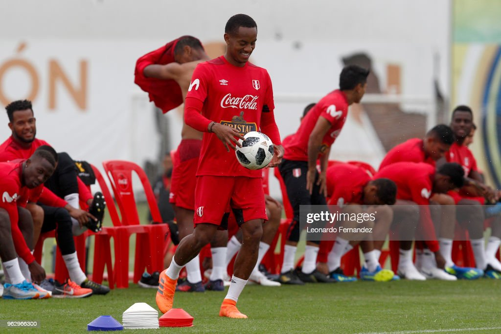 Peru Training Session