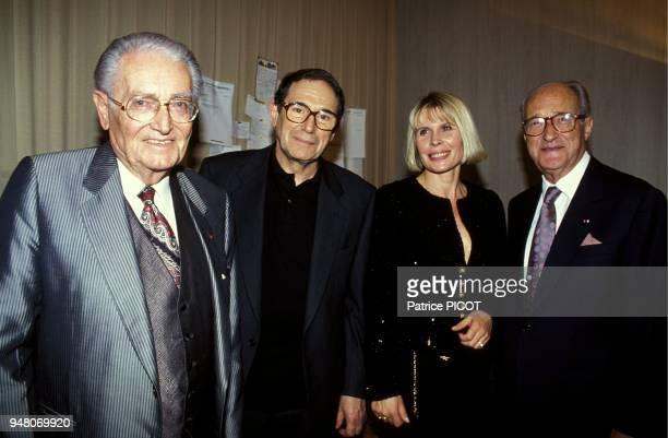 Andre Castelot, Robert Hossein, Candice Patou, Alain Decaux.