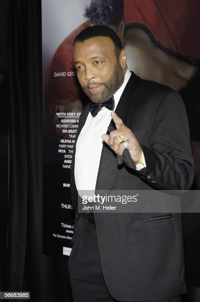 Andre Crouch arrives at the Kodak theater in Hollywood for the 'Dionne Warwick 45th Anniversary Spectacular produced by David Gest on January 26 2006...
