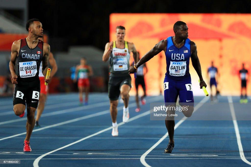 IAAF/BTC World Relays Bahamas 2017 - Day 1 : News Photo