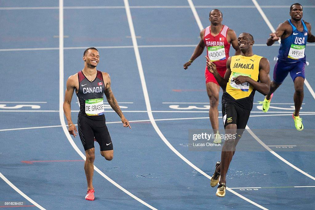 Olympic Athletics : News Photo