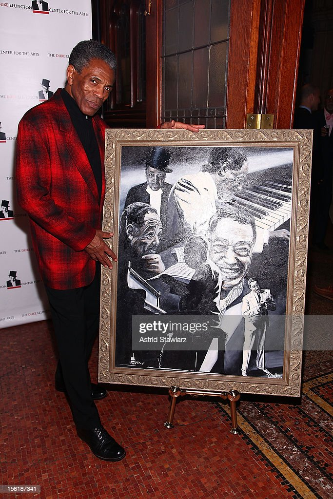 Andre De Shields attends the Duke Ellington Center For The Arts 'Ring Dem Bells!' Holiday Party at Landmark on the Park on December 10, 2012 in New York City.