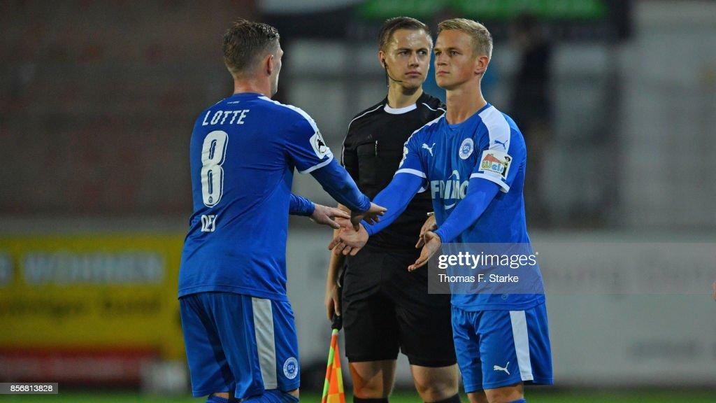 Sportfreunde Lotte v Hallescher FC - 3. Liga