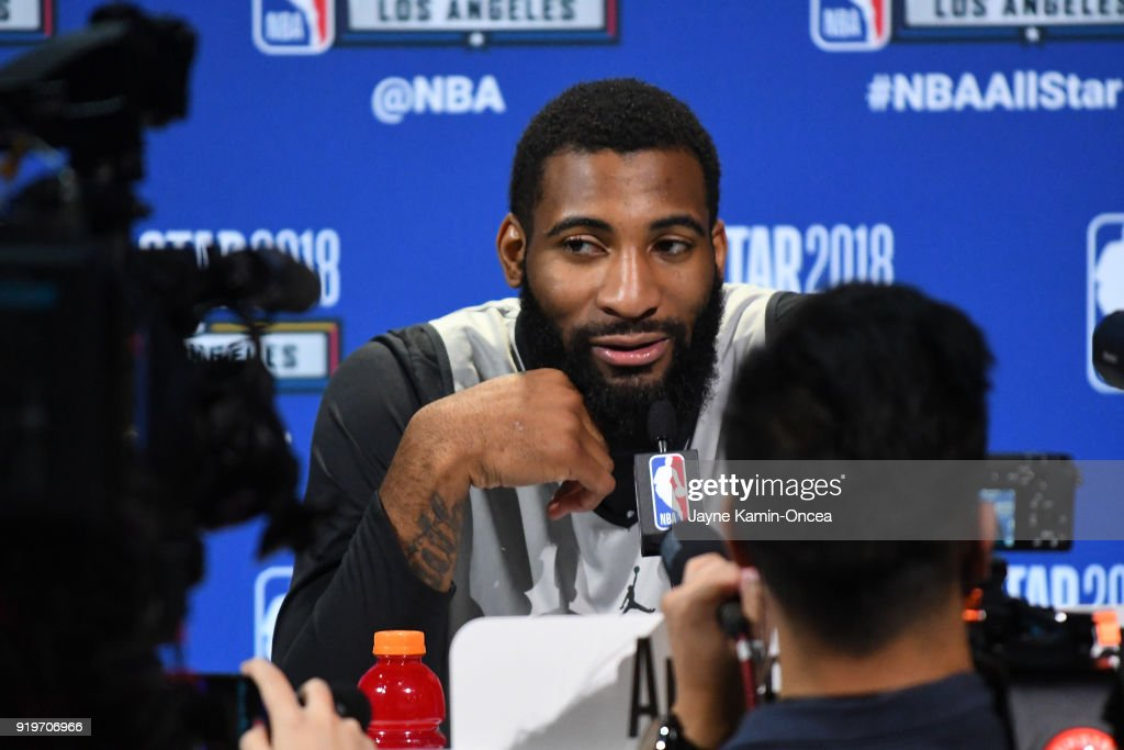 2018 NBA All-Star - Media Day & Practice