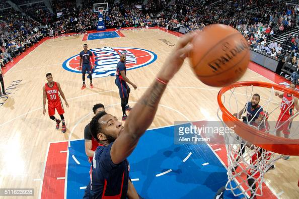 AP Source: Cavaliers to acquire Drummond from Pistons ...  |Andre Drummond Pistons Dunk