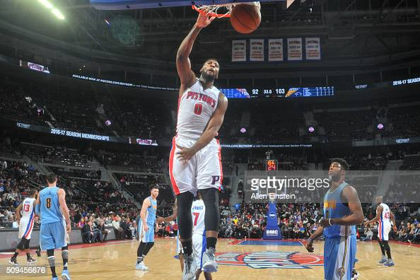 Pistons center Andre Drummond fined $15,000 by NBA  |Andre Drummond Pistons Dunk
