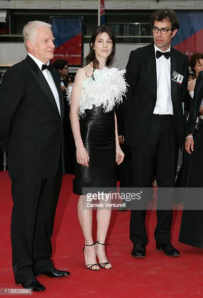 Andre Dussollier Charlotte Gainsbourg and Dominik Moll