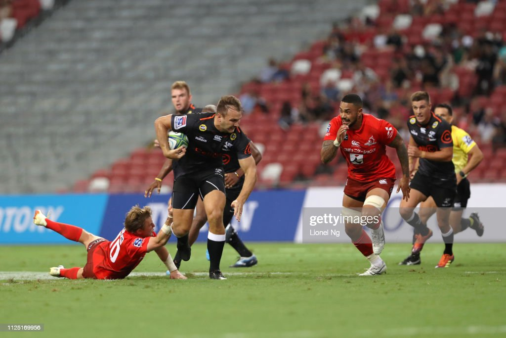 SGP: Super Rugby Rd 1 - Sunwolves v Sharks