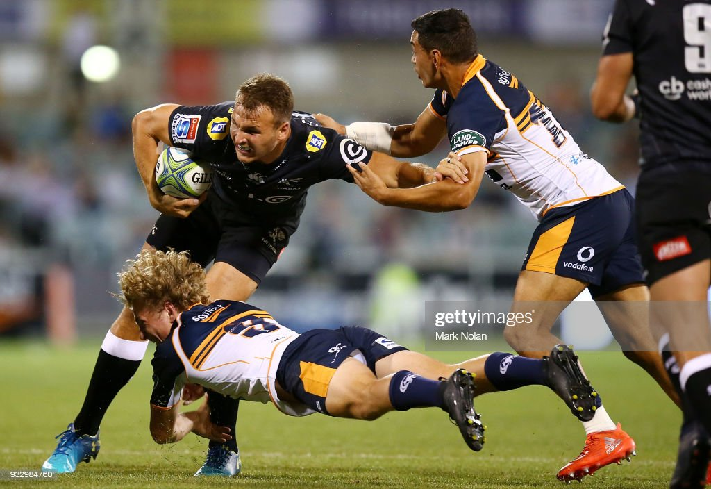 Super Rugby Rd 5 - Brumbies v Sharks