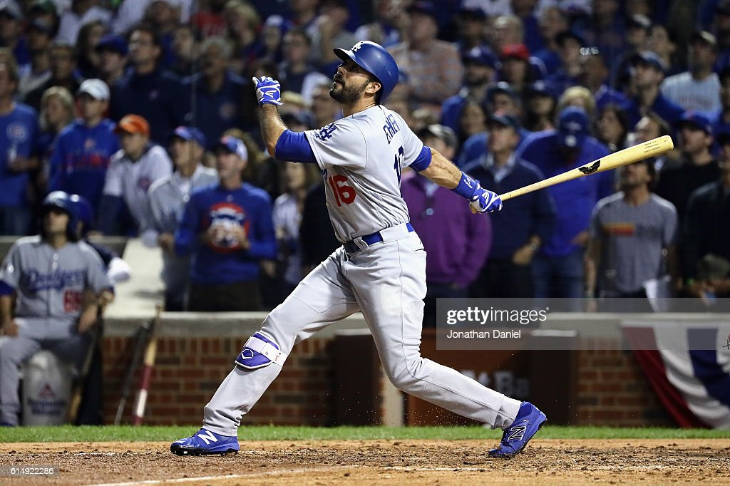 NLCS - Los Angeles Dodgers v Chicago Cubs - Game One