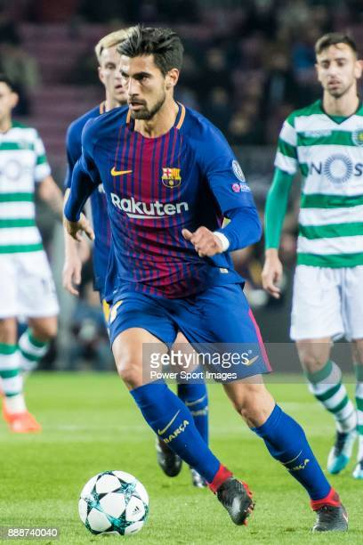 Andre Filipe Tavares Gomes of FC Barcelona in action during the UEFA Champions League 201718 match between FC Barcelona and Sporting CP at Camp Nou...