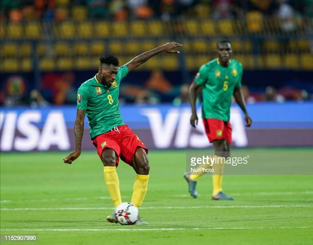 Andre Franck Zambo Anguissa of Cameroon during the 2019 African Cup of Nations match between Benin and Guinea-Bissau at the Ismailia stadium in...