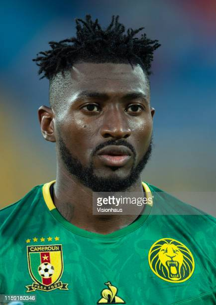 Andre Frank Zambo Anguissa of Cameroon during the 2019 Africa Cup of Nations Group F match between Cameroon and Ghana at Ismailia Stadium on June 29...