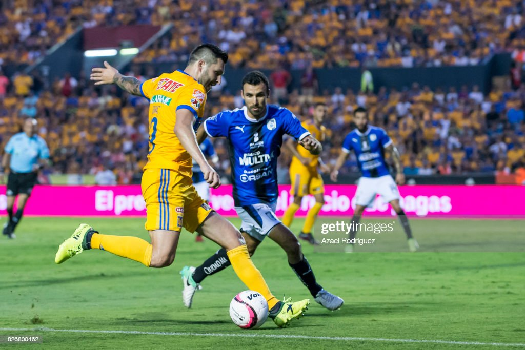 Tigres UANL v Queretaro - Torneo Apertura 2017 Liga MX
