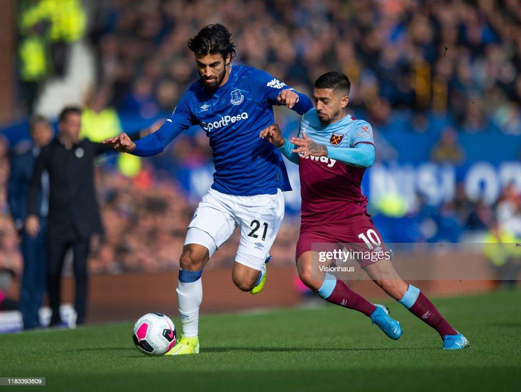 Everton FC v West Ham United - Premier League : Foto di attualità
