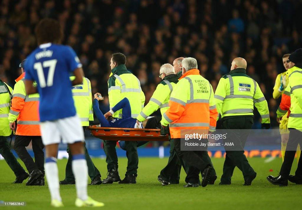 Everton FC v Tottenham Hotspur - Premier League : News Photo