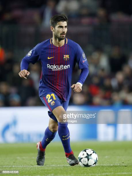 Andre Gomes of FC Barcelona during the UEFA Champions League group D match between FC Barcelona and Sporting Club de Portugal on December 05 2017 at...