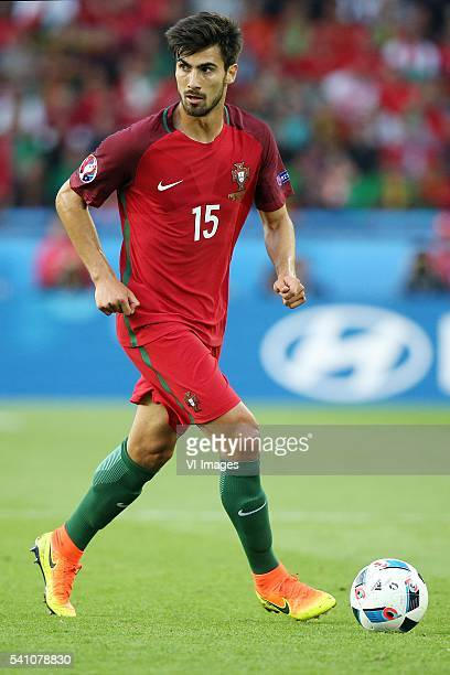 Andre Gomes of Portugal during the UEFA EURO 2016 Group F group stage match between Portugal and Austria at the Stade Parc de Princes on june 18 2016...