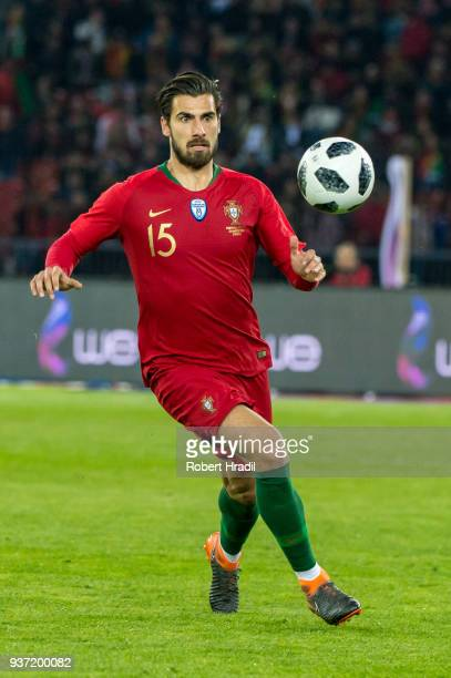 Andre Gomes of Portugal in action during the International Friendly between Portugal and Egypt at the Letzigrund Stadium on March 23, 2018 in Zurich,...