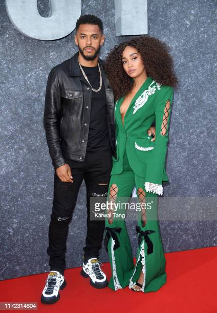 Andre Gray and LeighAnne Pinnock attend the Top Boy UK Premiere at Hackney Picturehouse on September 04 2019 in London England