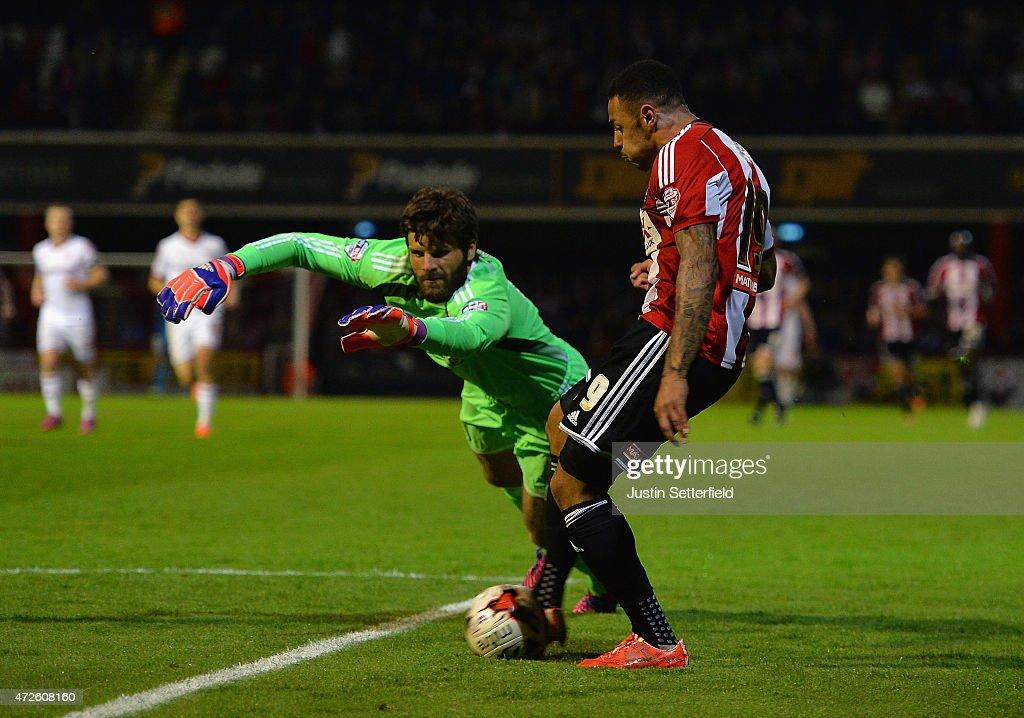 Brentford v Middlesbrough - Sky Bet Championship Playoff Semi-Final : News Photo