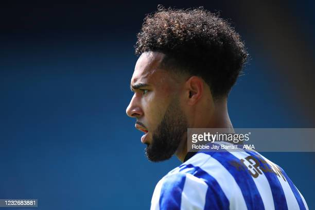 Andre Green of Sheffield Wednesday during the Sky Bet Championship match between Sheffield Wednesday and Nottingham Forest at Hillsborough Stadium on...
