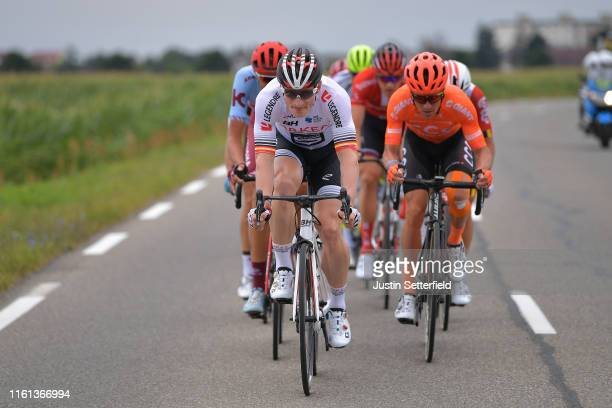 Andre Greipel of Germany and Team Arkea-Samsic / Serge Pauwels of Belgium and CCC Team / during the 106th Tour de France 2019, Stage 6 a 160,5km...