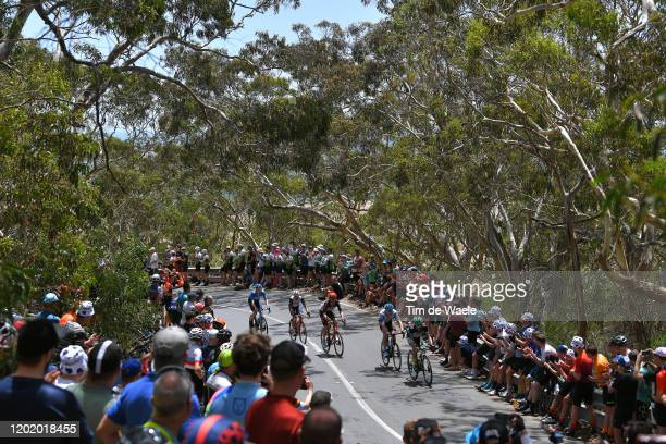 Andre Greipel of Germany and Team Israel Start-Up Nation / Adam Hansen of Australia and Team Lotto-Soudal / Kiel Reijnen of of The United States and...