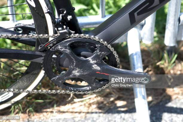 Andre Greipel of Germany and Team Lotto Soudal / Crankset / Ridley Bike / Illustration / during the 105th Tour de France 2018, Stage 2 a 182,5km...