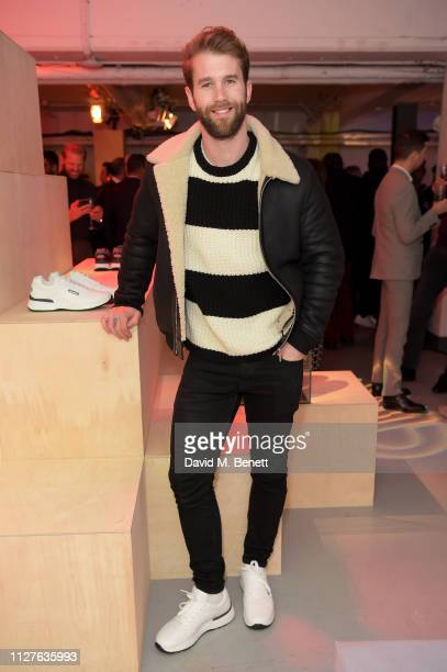 Andre Hamann attends Church's Footwear CH873 Sneaker Launch on February 05 2019 in London England