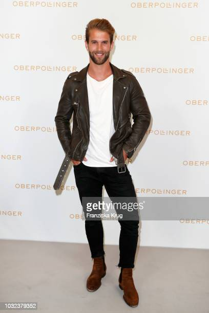Andre Hamann attends the grand opening of the new Oberpollinger ground floor 'Muenchens Neue Prachtmeile' at Oberpollinger on September 12 2018 in...