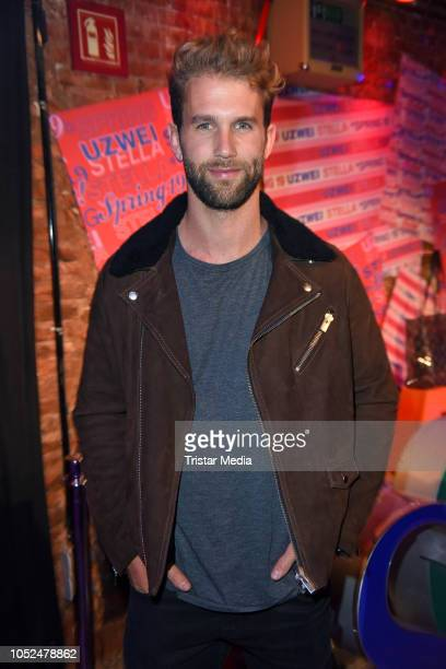 Andre Hamann attends the Stella McCartney X UZWEI Spring/Summer 2019 Collection Launch Party at Gruenspan Club on October 18 2018 in Hamburg Germany