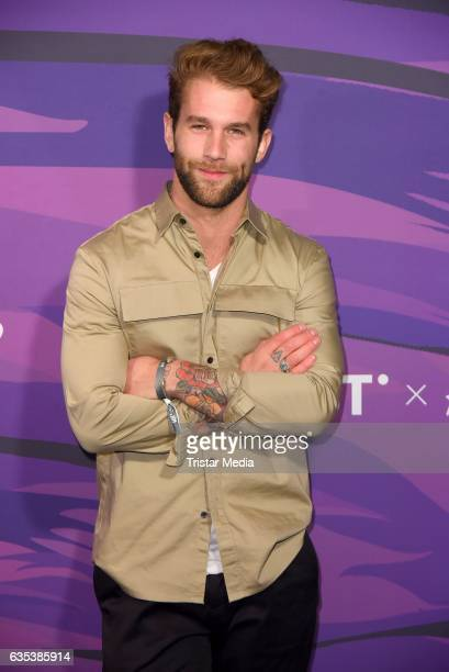 Andre Hamann attends the Young ICONs Award in cooperation with HM and Tiffany's Co at BRLO Brwhouse on February 14 2017 in Berlin Germany