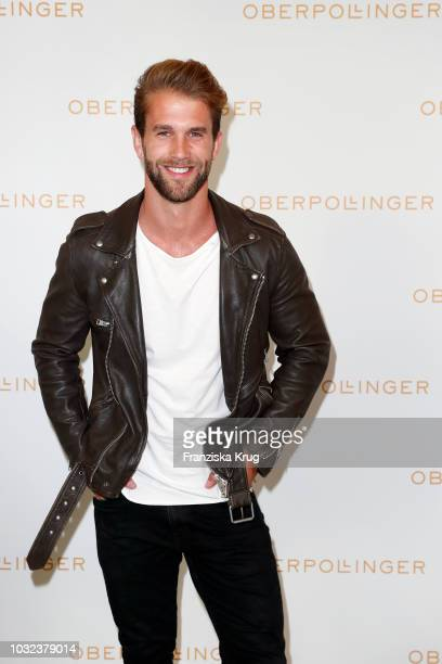 Andre Hamann during the grand opening of the new Oberpollinger ground floor 'Muenchens Neue Prachtmeile' at Oberpollinger on September 12 2018 in...