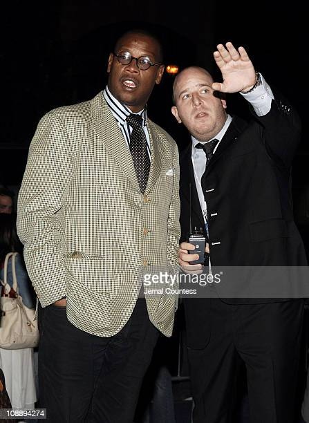 Andre Harrell and Noah Teppenberg during Sprite Street Couture Showcase - Arrivals and Afterparty at Guastavino's in New York City, New York, United...